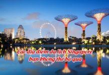 các tour singapore